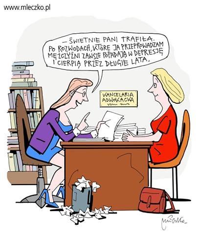 Mleczko rozwód u adwokata