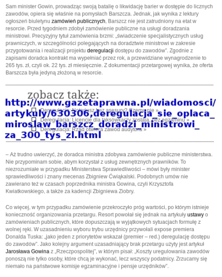 PGP Barszcz bez przetargu gazeta prawna