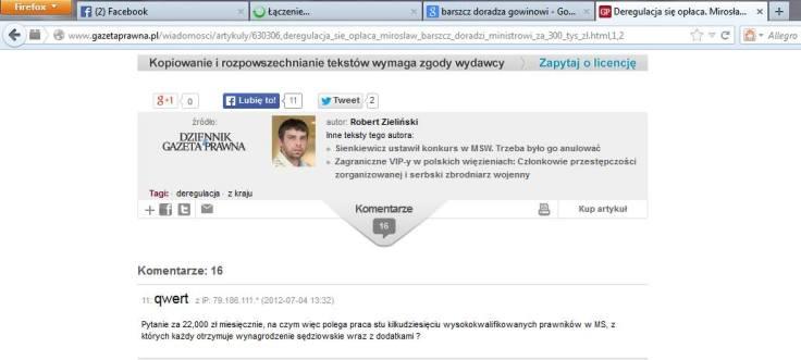 PGP Barszcz to po co gowinowi doradcy