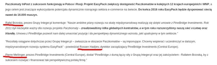 PGP Brzoska, Hadijev, Mellinger