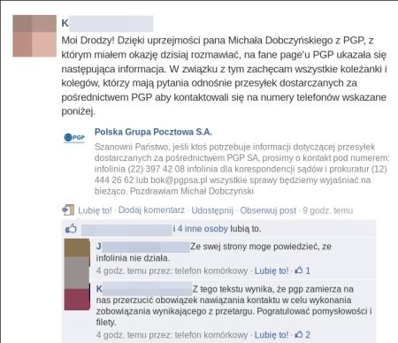 PGP gdzie szukać prezes podpowiada