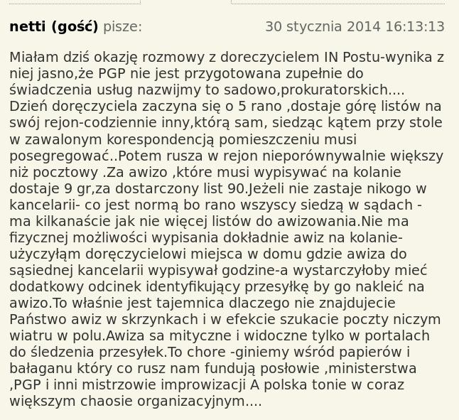 PGP koment z Rzepy wypisywanie awiz 1