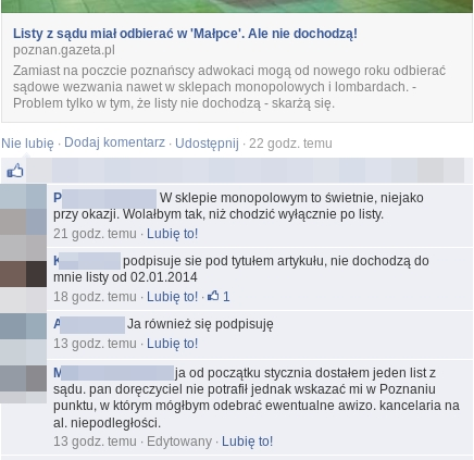 PGP komenty z fb Poznan
