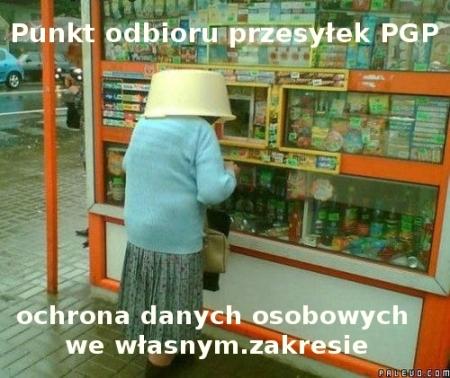 PGP mem 2 kapturek