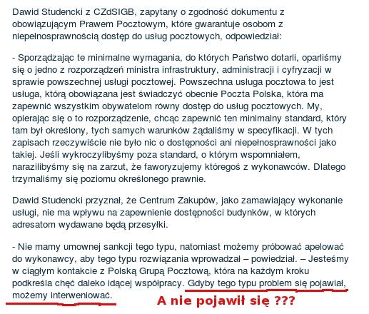 PGP niepełnosprawni Dawid Studencki