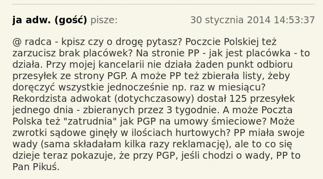 PGP z Rzepy koment pan Pikuś