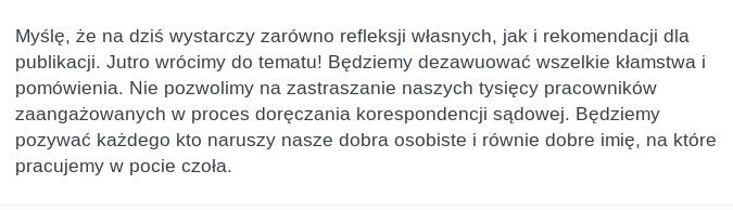 Rafał Zgorzelski pozwie każdego
