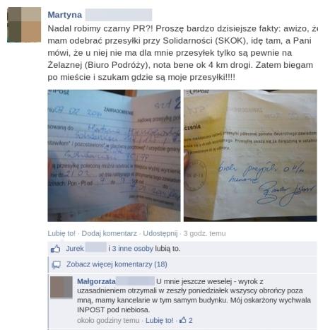 PGP znikajace listy
