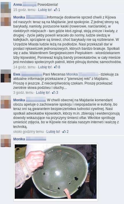 Ukraina 3 adw na Majdanie komenty