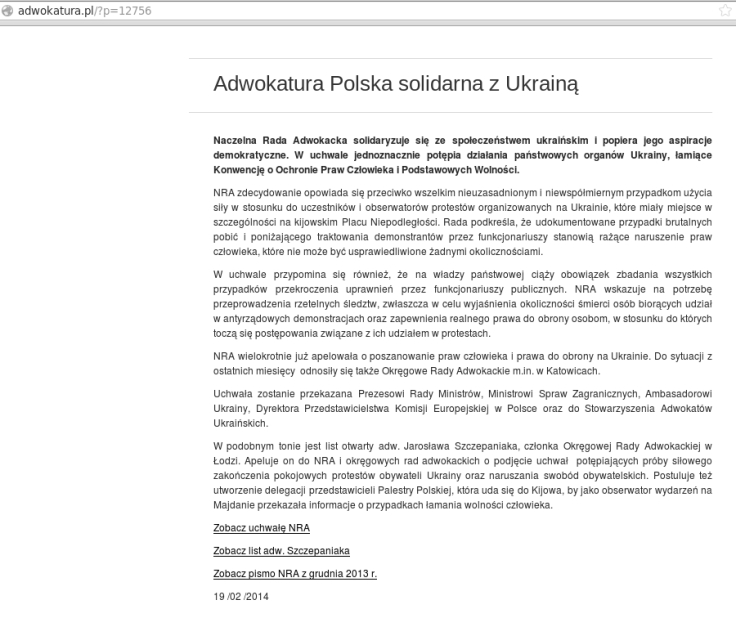 Ukraina adw polska