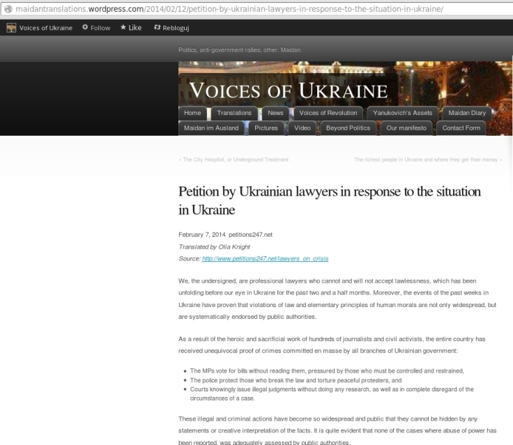 Ukraina adwokatura miedzynarodowa