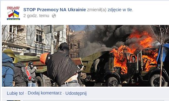 Ukraina stop przemocy funpage z fb