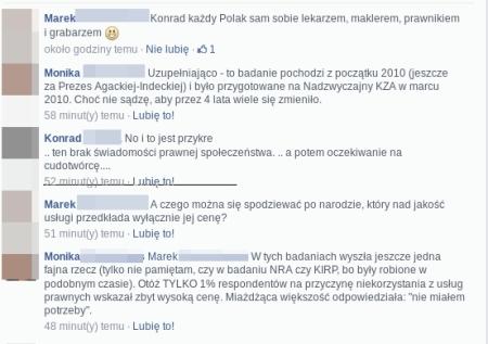 stawki adw Konrad P komenty z fb1
