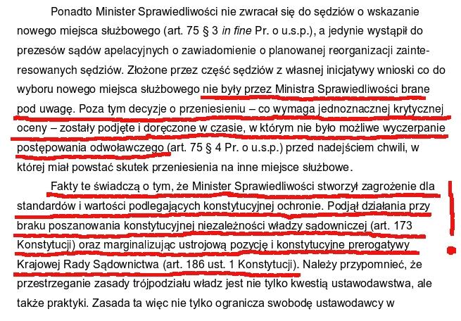 uzasadnienie uchwaly SN reforma Gowina 2
