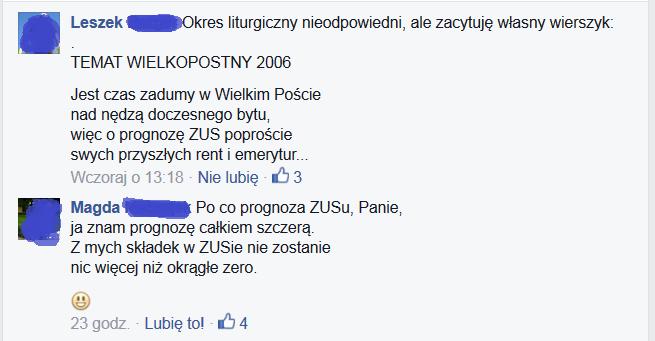 Adwokaci Też Wierzą W Emerytury Z Zusu Palestra Polska