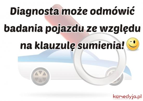 klauzula sumienia diagnosty