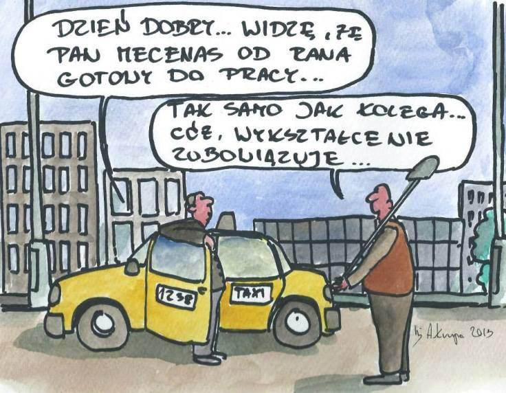 ŚOT adwokat taksówkarz