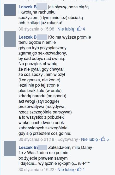 domniemanie gwałtu LB2