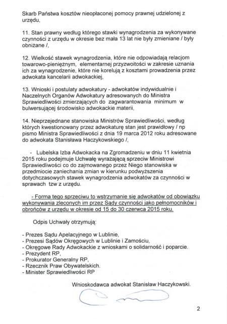 projekt ustawy S Haczykowskiego 2