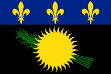 Flaga Gwadelupa