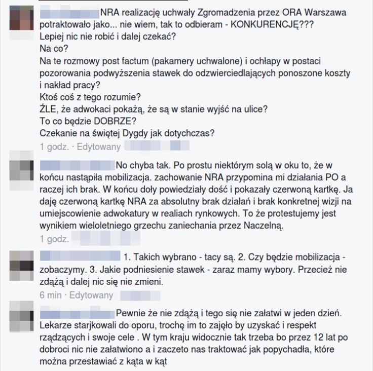 listy prezesa NRA i dziekana Rybczynskiego komenty z fb