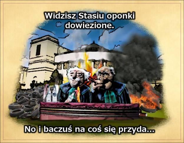 Loza strajkuje