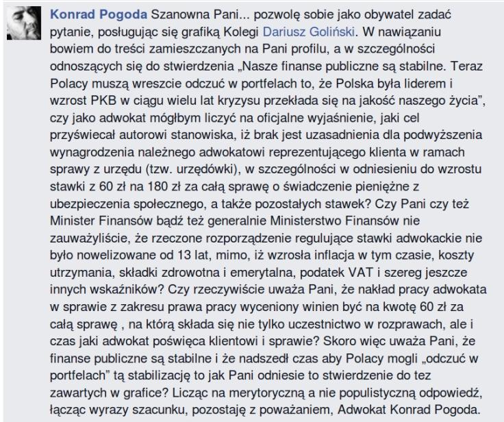 adw Konrad Pogoda pyta I Leszczynę