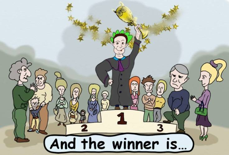 the winner is