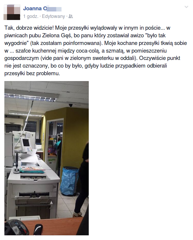 In Post w Zielonej Gęsi