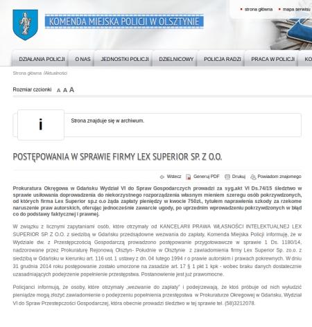 lex superior post karne
