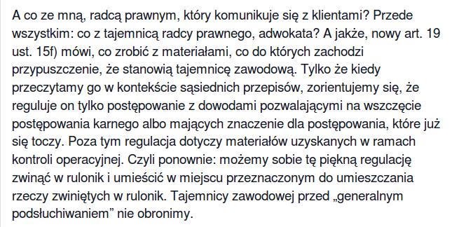 Bohdan Widła tajemnica radcowska 1