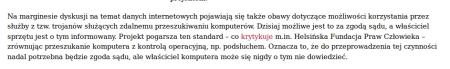 inwigilacja Fundacja Panoptykon trojany
