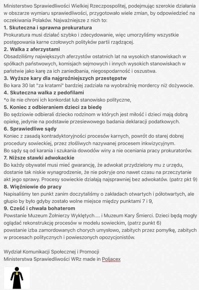 PolJacex Ziobro o wym spr
