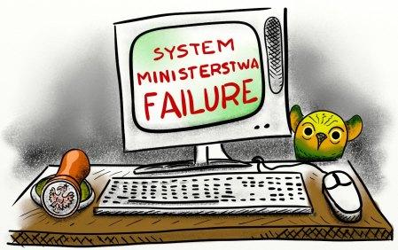 system ministerstwa failure