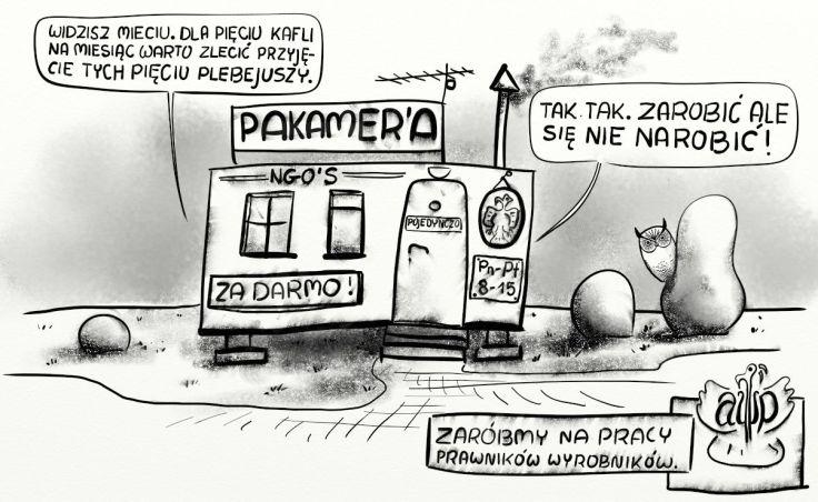 NGO pakamera